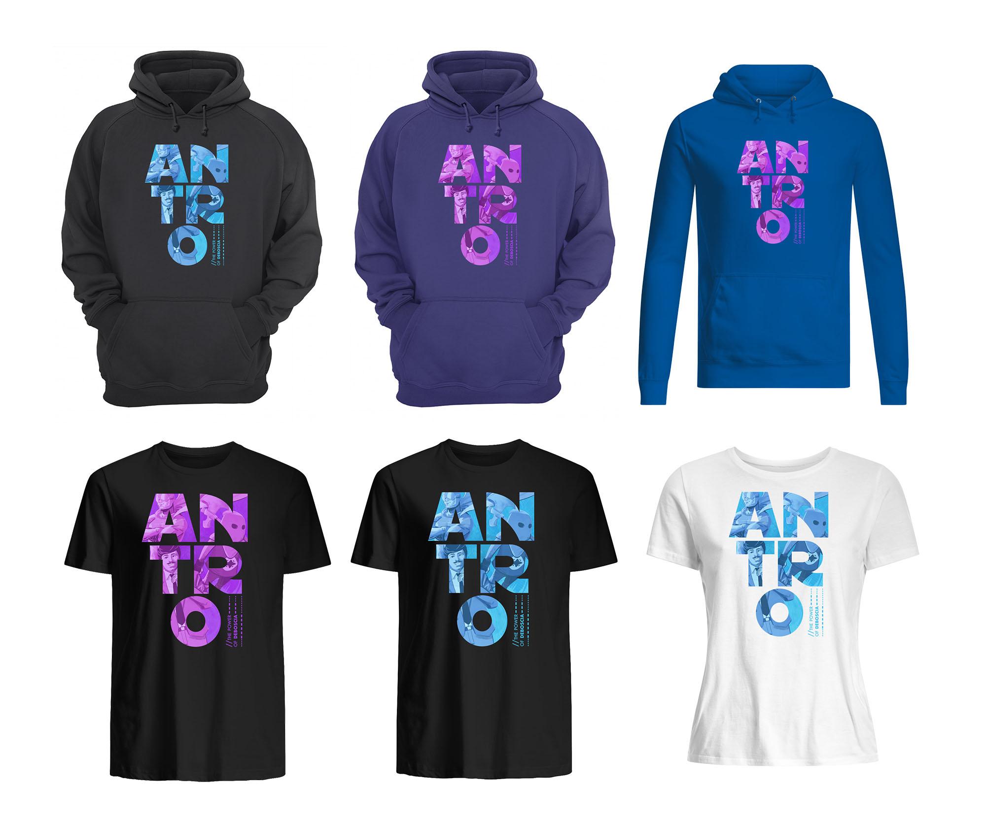 Antro Felpe t-shirt