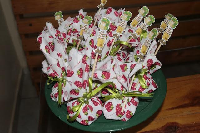 decoração festa do chaves - trouxinha do chaves