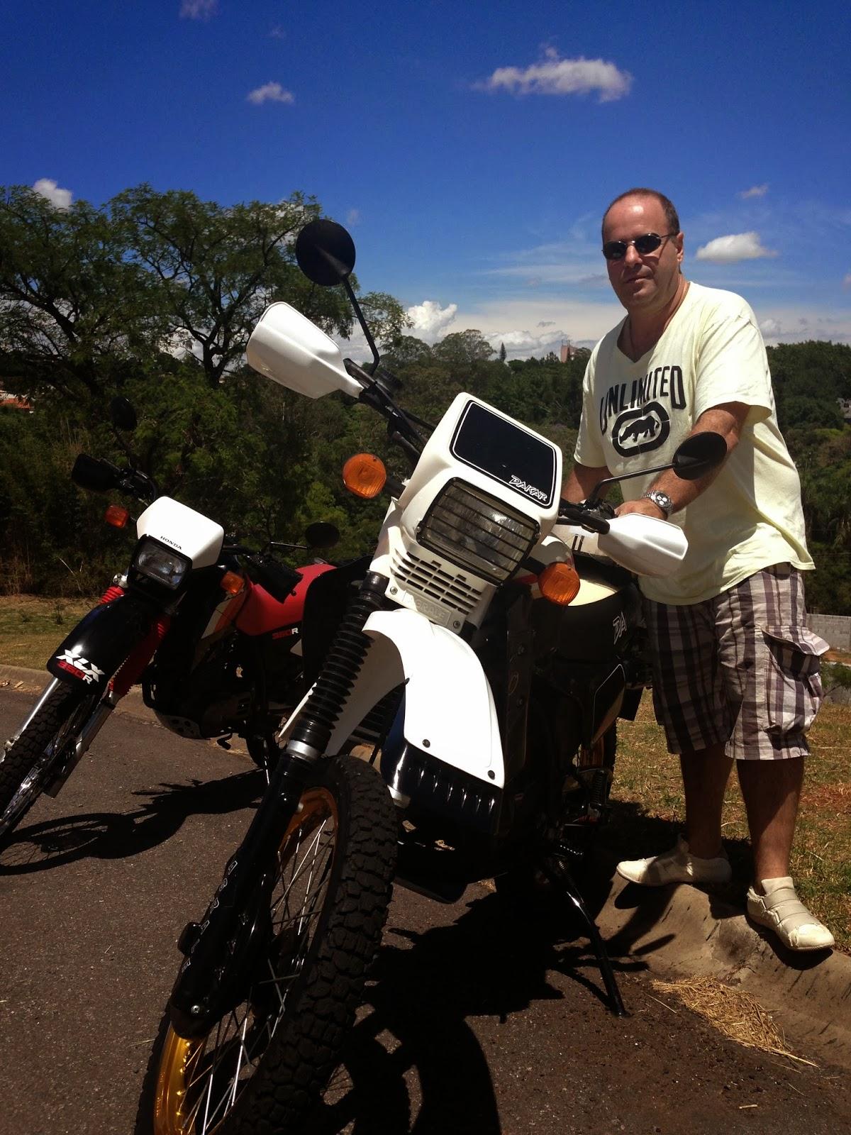 Agrale Dakar 30.0 foi a moto escolhida por ele ba573715d242b