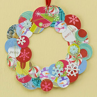 Greeting Card Wreath.
