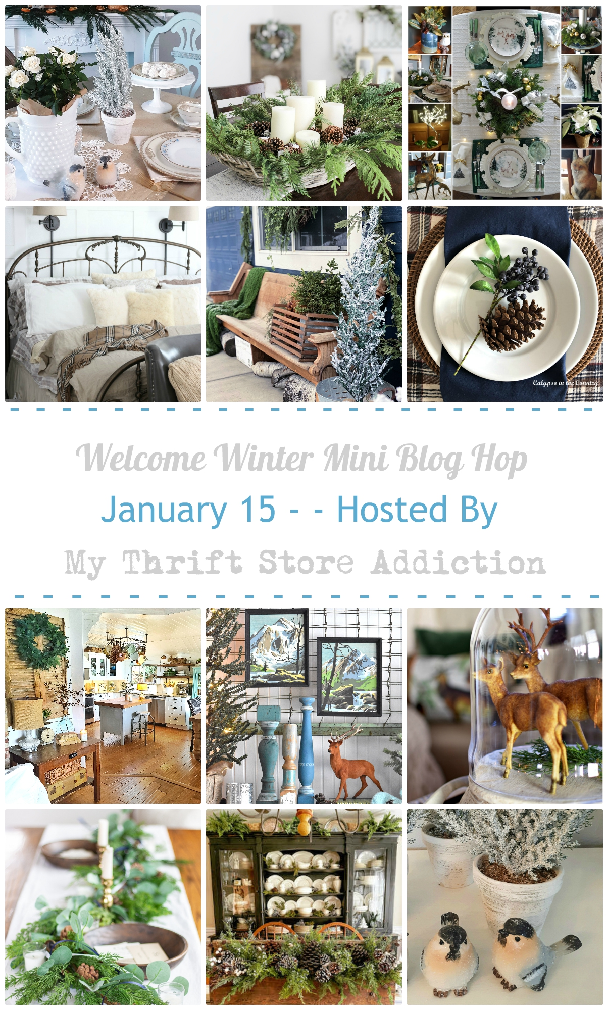Welcome Winter mini blog hop