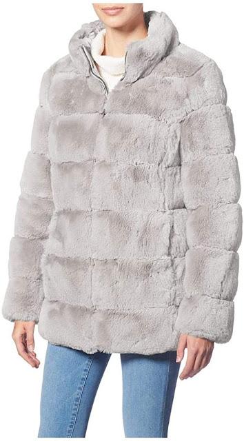Best Grey Faux Fur Coats For Women