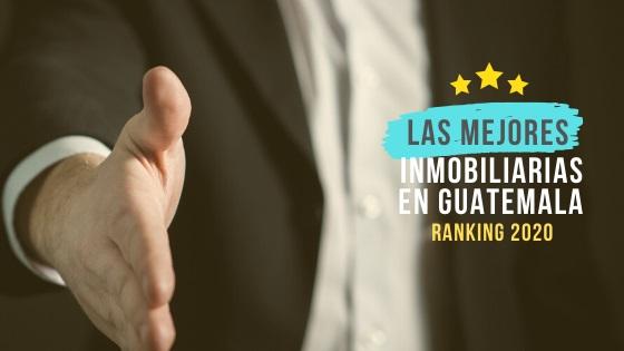 mejores inmobiliarias guatemala