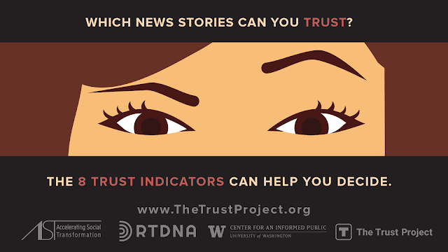 #TrustedJournalism Campaign Launched to Help Slow Spread of Disinformation on Social Media Among Older Adults Ahead of US Elections