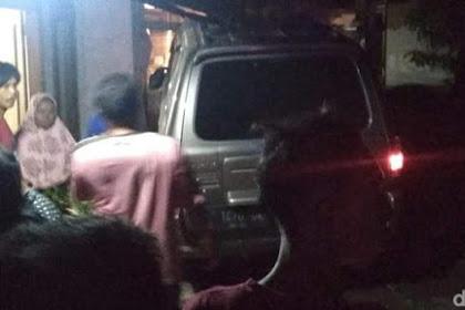 Mobil Dikemudikan Kapolsek Tabrak Rumah Tew*skan 2 Warga, Terhalusinasi Orang Menyeberang