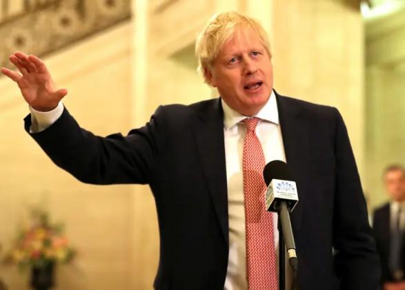 رئيس الوزراء البريطانى  بوريس جونسون يعلن اصابتة بكورونا