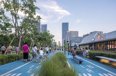 Parque Xuhui Runway en Shanghái