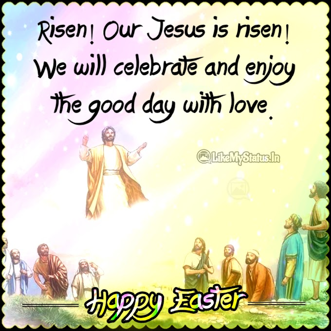 Happy Easter Wishes In English