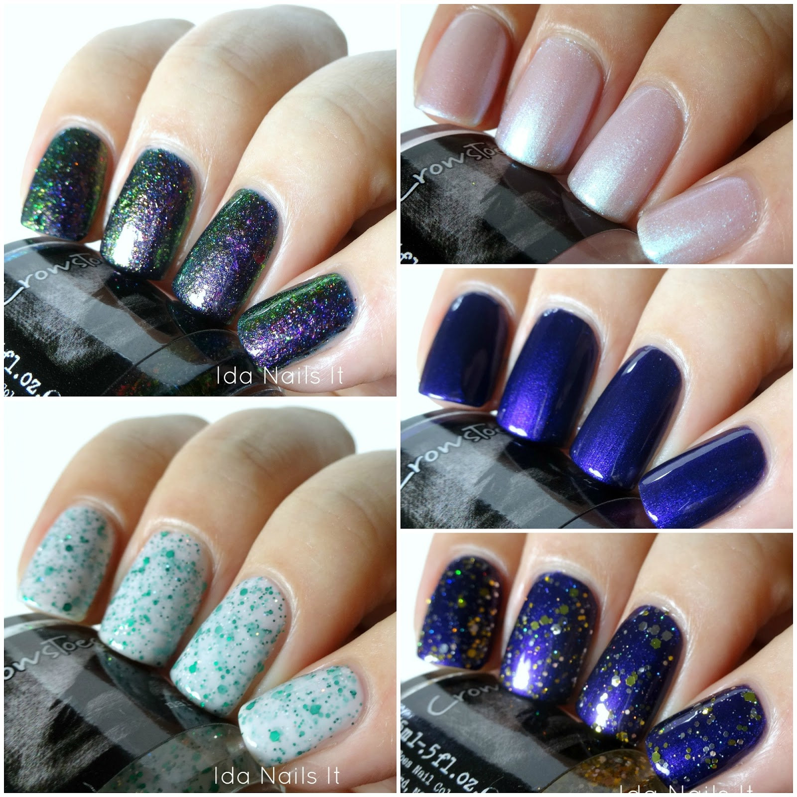 Ida Nails It: Crows Toes The Triple M Collection: Swatches and Review