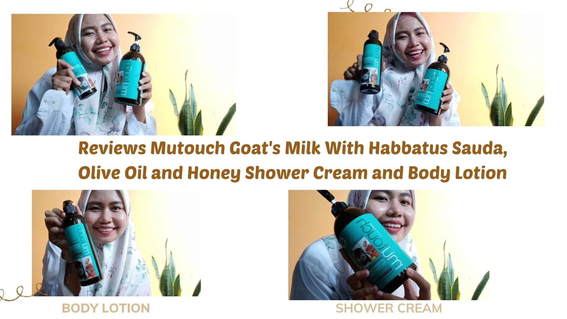 Review Mutouch Goat's Milk With Habbatus Sauda, Olive Oil and Honey