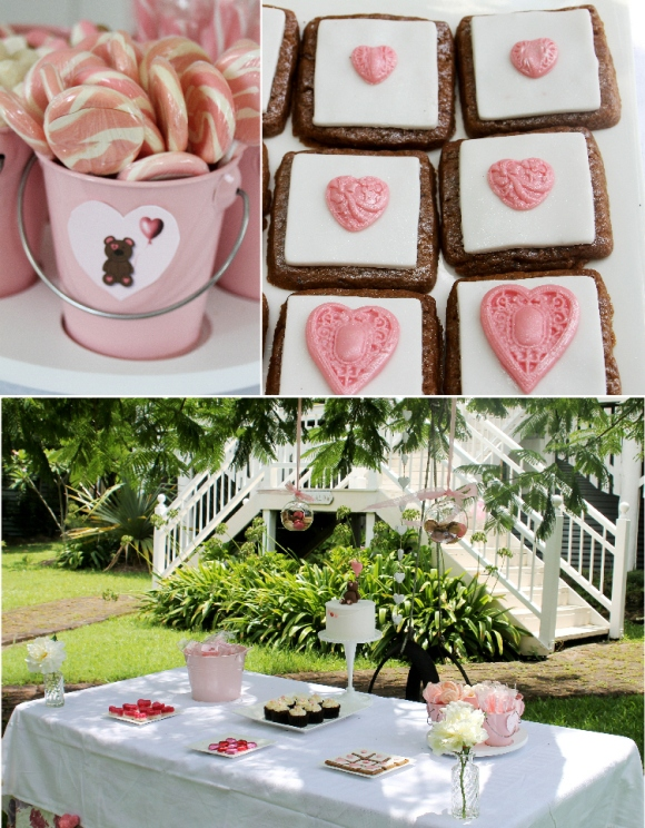 A Very Sweet Valentine's Day Party - via BirdsParty.com
