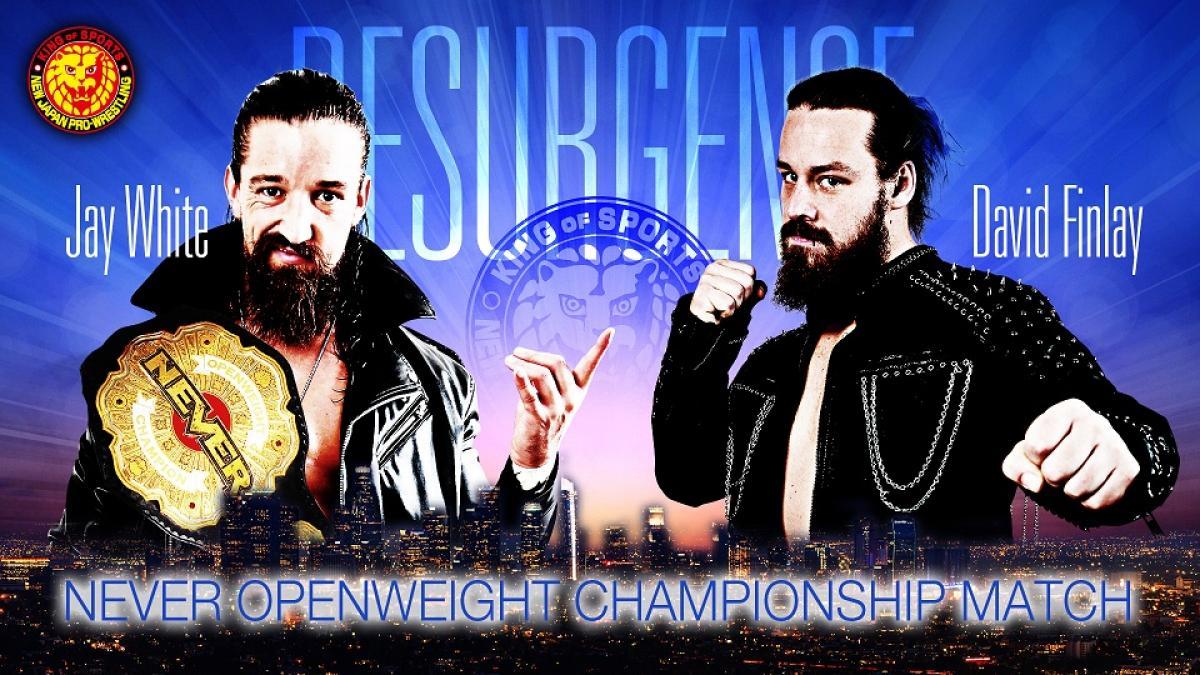 NEVER Openweight Championship Match é anunciada para o NJPW Resurgense
