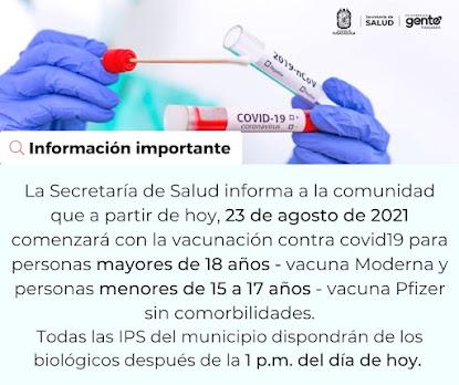 Vacunación...