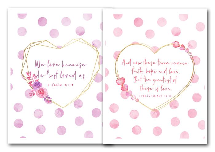 Valentine's Scripture Printables