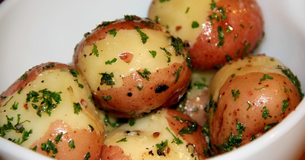 Deep South Dish Butter Steamed New Potatoes