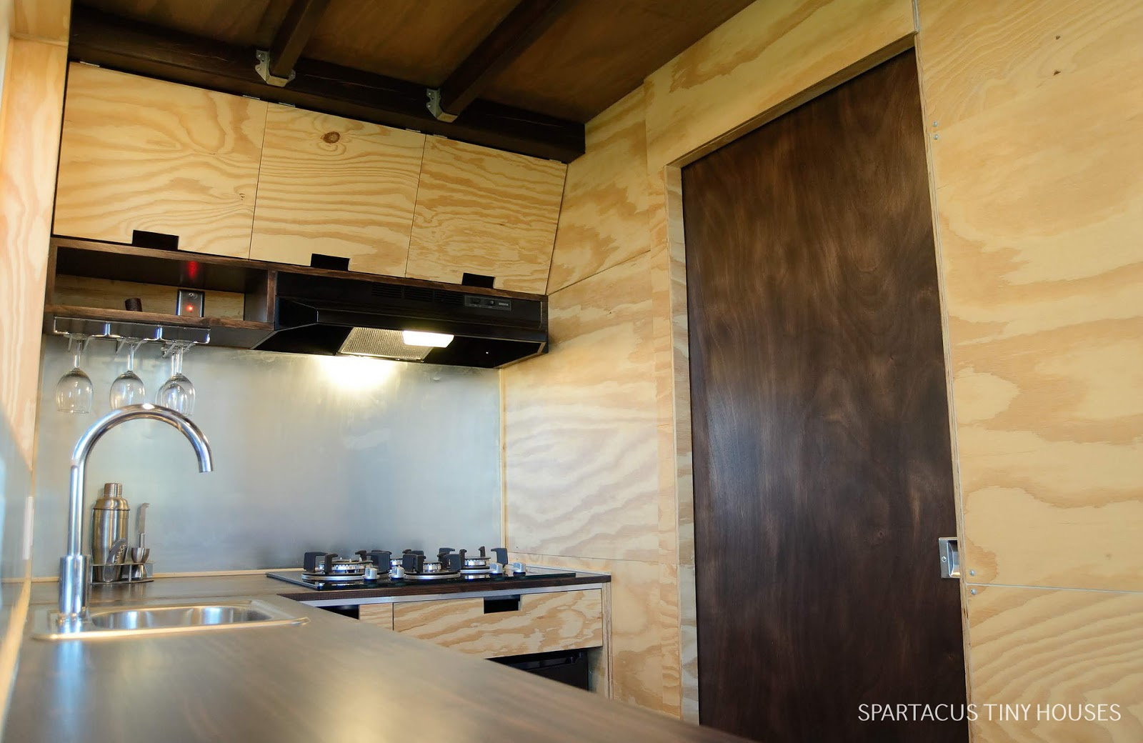 Tiny House Town Spartacus Tiny House 125 Sq Ft