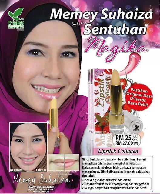 Lipstick Collagen D'Herbs