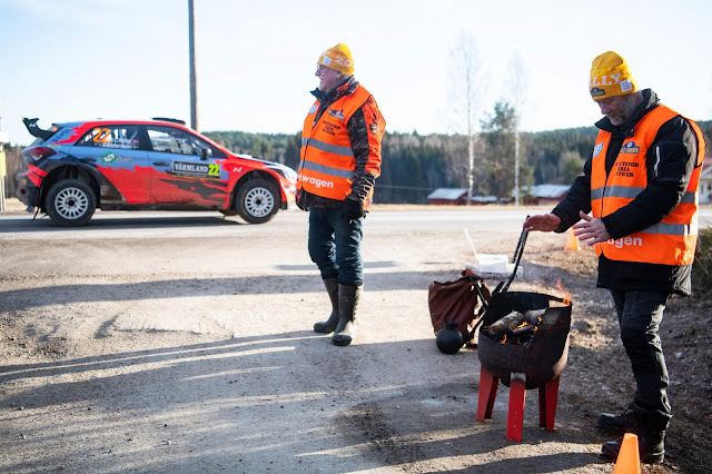 Rally Motorsport marshals
