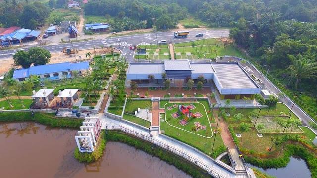 Monumen Temerloh Titik Tengah Semenanjung , Tempat tarikan baru di Pahang