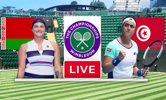 Watch Match Tennis Ons Jabeur vs Aryna Sabalenka Live Streaming In Wimbledon