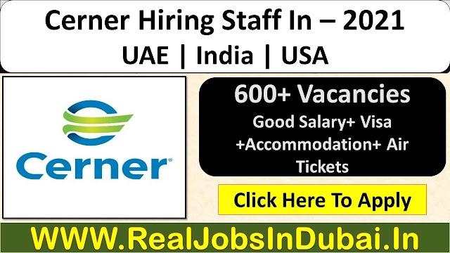 Cerner Careers Jobs Vacancies 2021