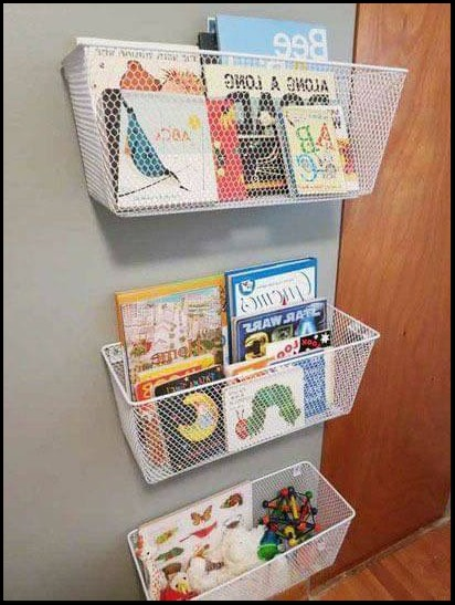 diy bookshelf kids easy