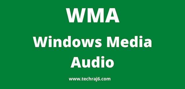 WMA full form, What is the full form of WMA