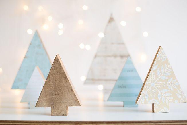 Decoração de Natal estilo escandinavo