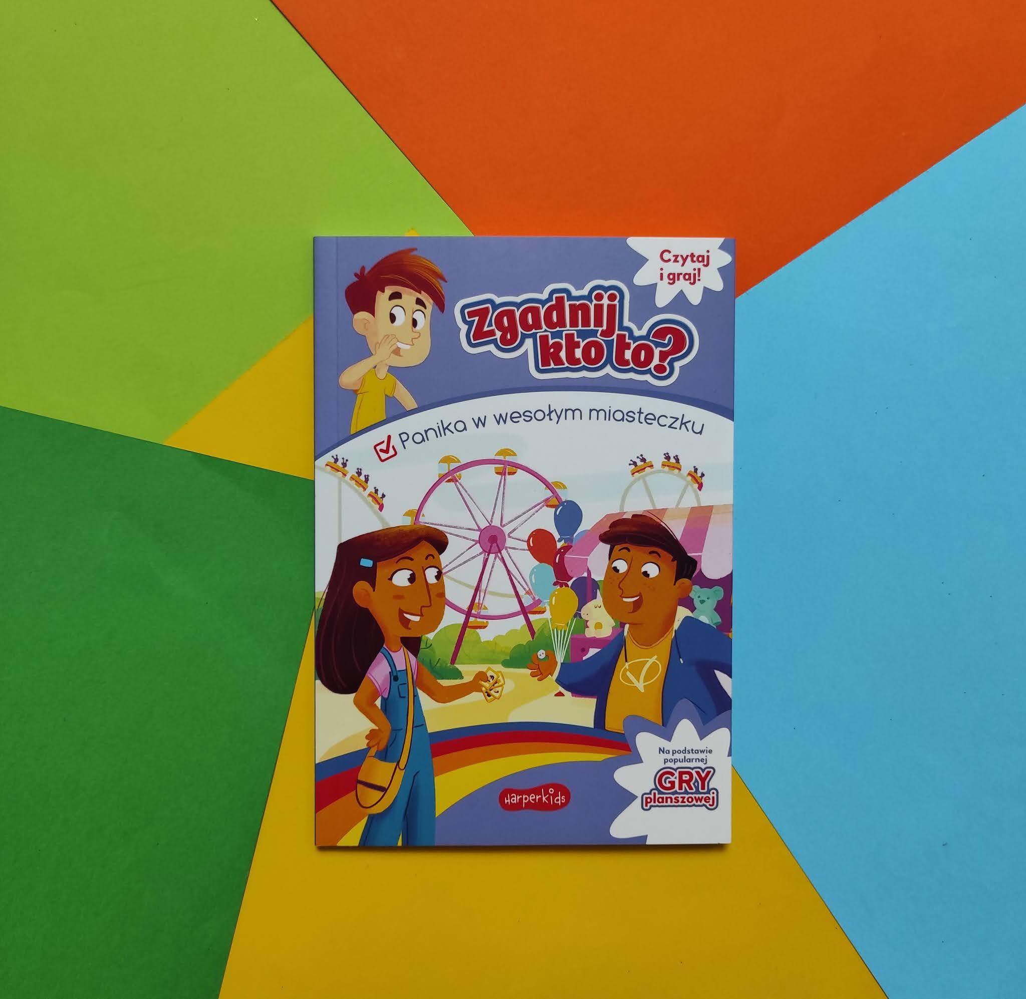 """""""Zgadnij kto to?"""" - nowe książkowe gry dla dzieci od wydawnictwa Harper Kids"""