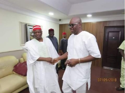 Kwankwaso Visits Fayose In Ekiti (Photos)
