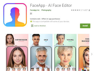 Download Faceapp: Aplikasi Selfie