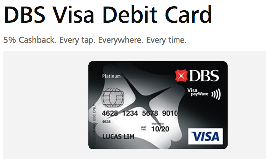Dbs forex card singapore