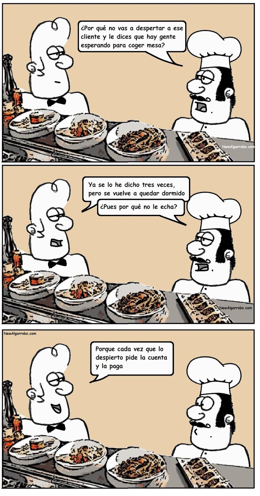 chiste de cocineros