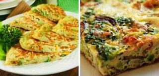 Vegetable Omelet Breakfast Recipes Healthy