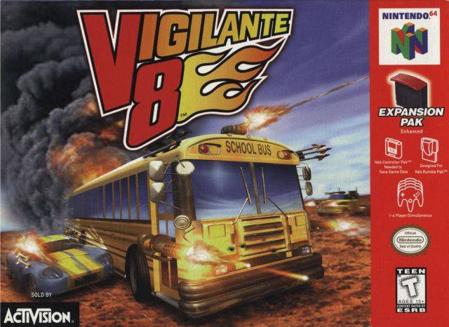 Top 10 Greatest N64 Racing Games - Vigilante 8