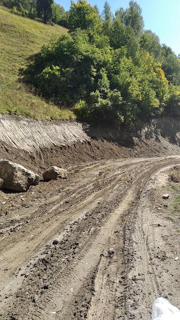 грязь горной дороги