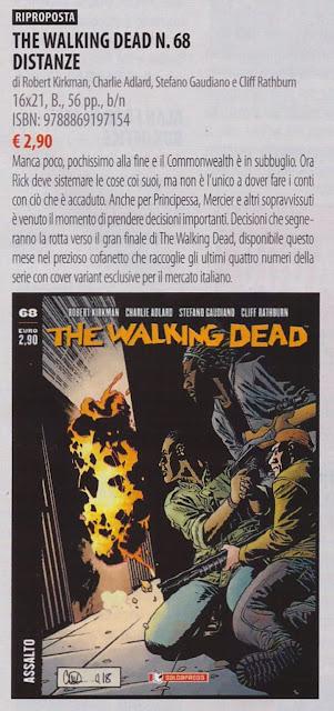 The Walking Dead #68: Distanze