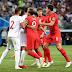Inglaterra derrotó 2-1 a Túnez