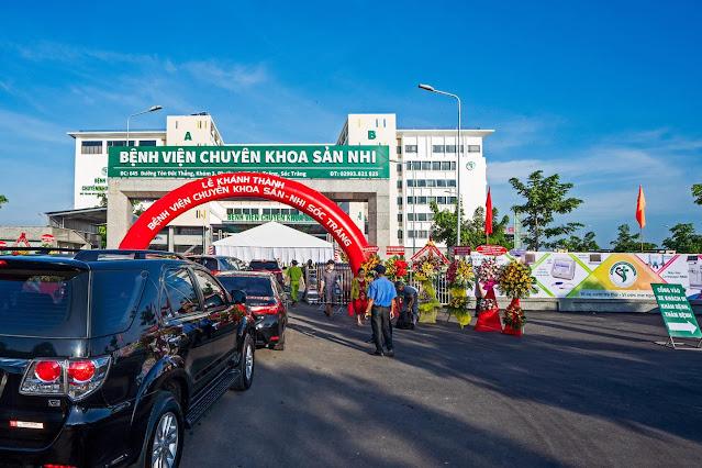 Bệnh viện chuyên khoa Sản – Nhi Sóc Trăng - Tiện ích Vạn Phát Avenue