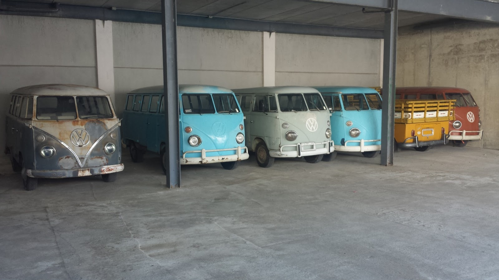 11 Pieces VW T1 for Sale Now In Hungary | VW Bus