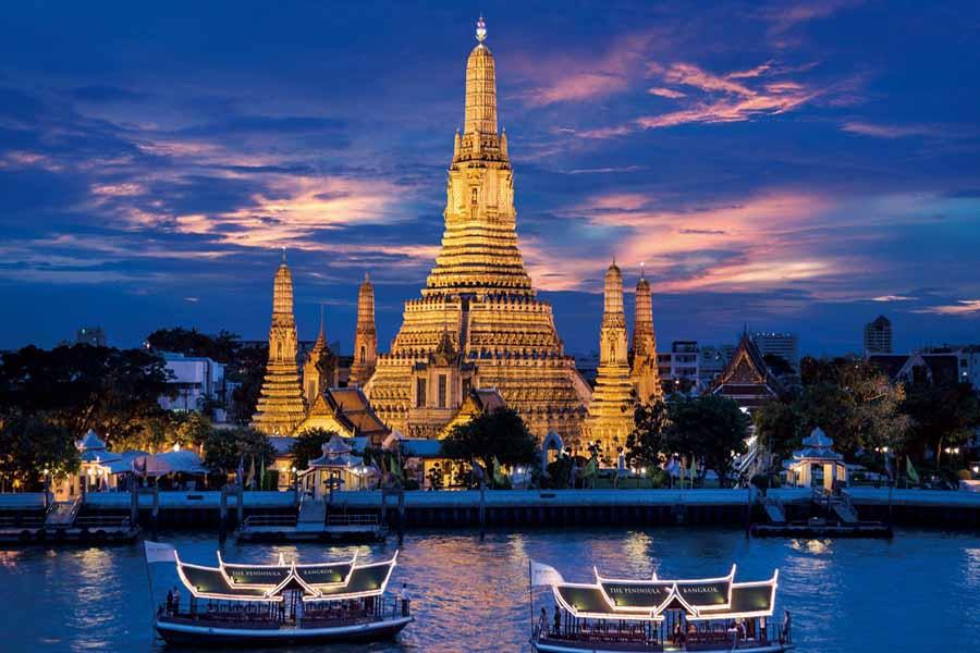 Paket Wisata Bangkok Wat Arun In Bangkok