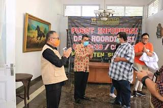 Dari Jaringan Doa Se- Kota Sukabumi Pemkab Sukabumi Terima 100 APD