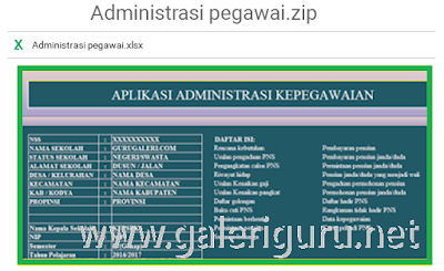 Aplikasi Administrasi Kepegawaian Tenaga Pendidik Dan Kependidikan