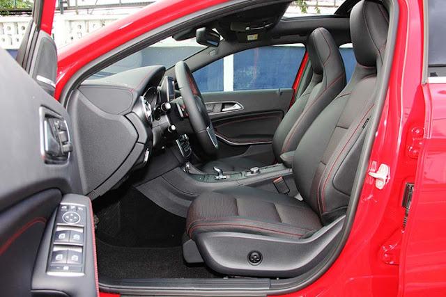 Ghế người lái Mercedes AMG GLA 45 4MATIC thiết kế đậm chất thể thao
