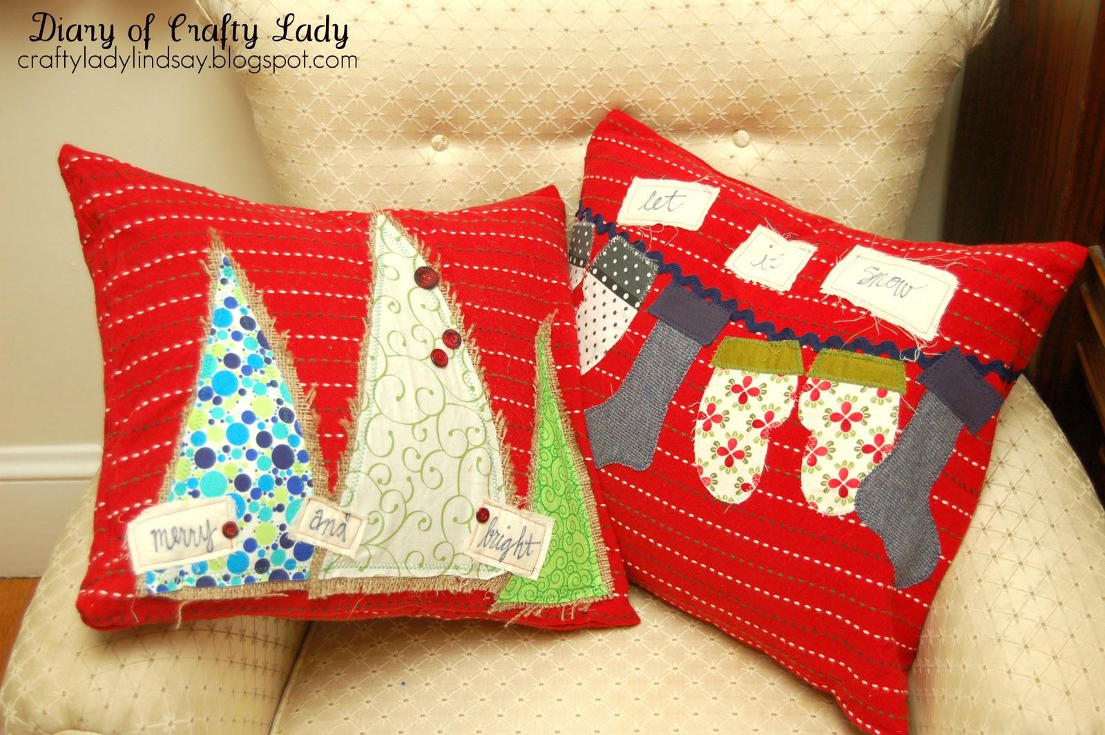 Hand Craft Pillows
