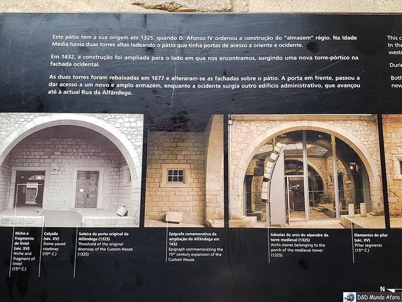 Detalhe da Casa do Infante - O que fazer no Porto, Portugal