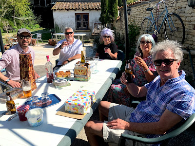 French Village Diaries celebrating a second covid-19 confinement birthday