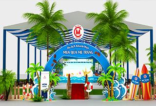 Trang trí cho Sự kiện Quảng Cáo tại Nha Trang
