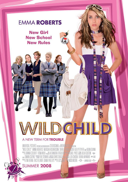 Poster of Wild Child (2008) Dual Audio [Hindi-DD5.1] 720p BluRay ESubs Download