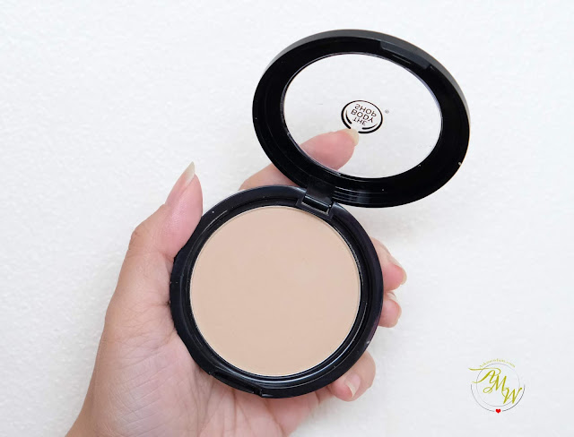 a photo of The Body Shop Matte Clay Powder Full Coverage Pressed Powder